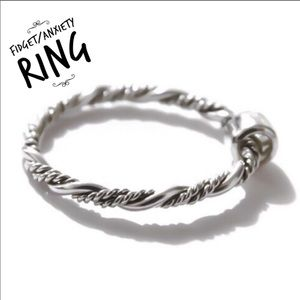 Sterling Silver fidget/anxiety ring